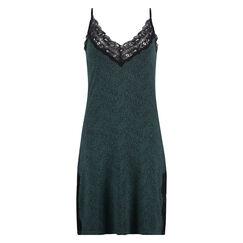 Jersey lace natkjole, grøn