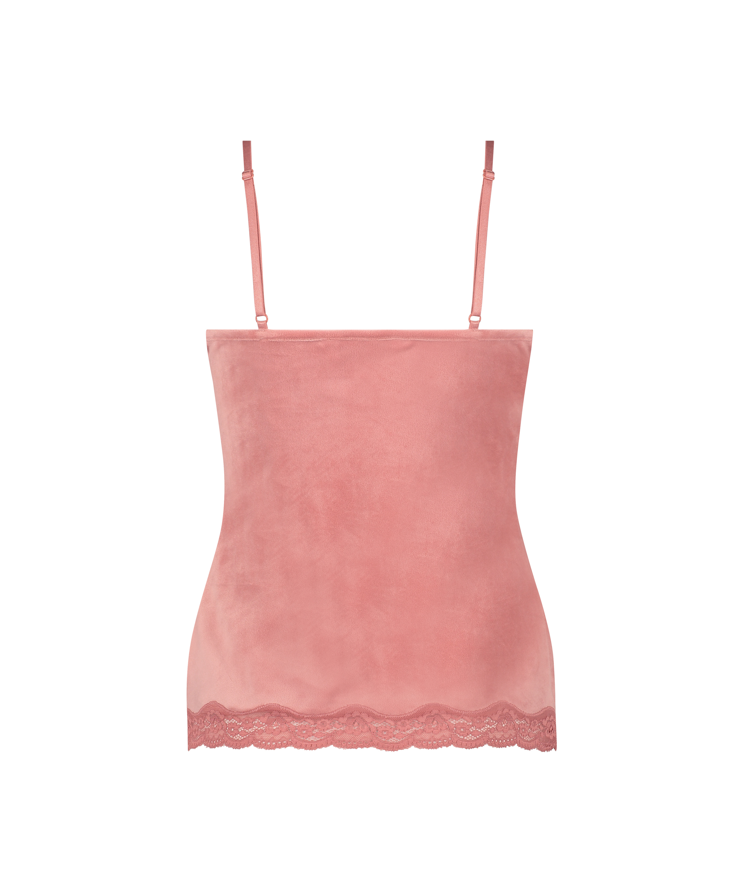 Cami Velour Lace, pink, main