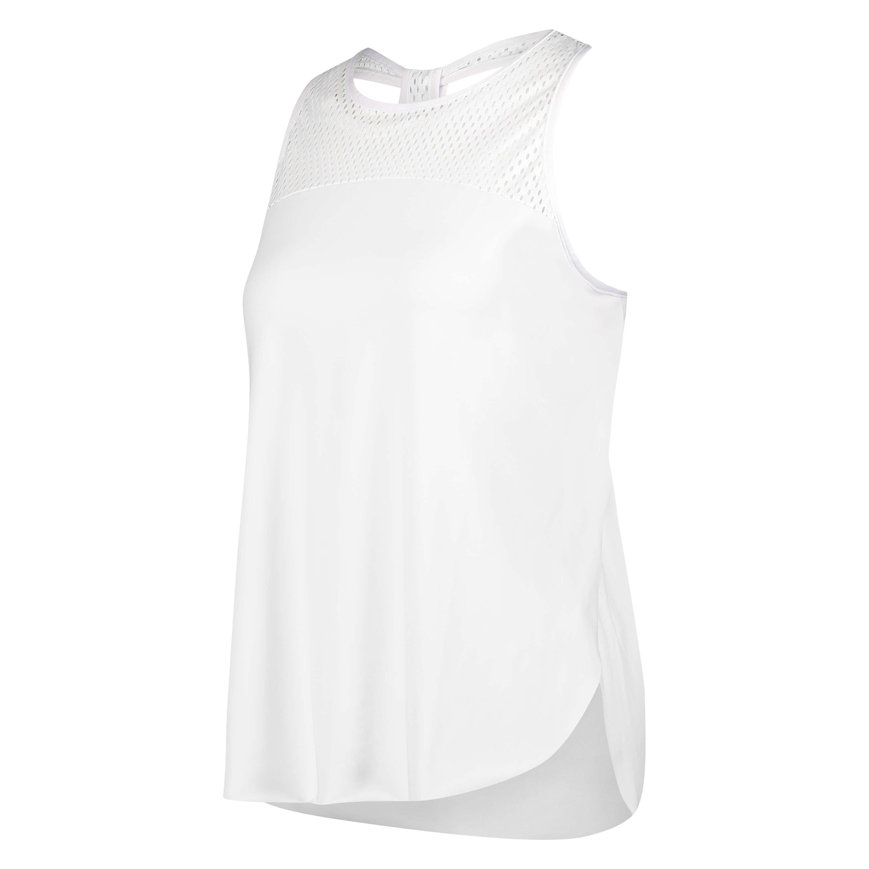 HKMX Tank top loose fit, hvid, main