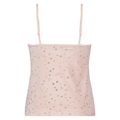 Cami Velour Stjerne, pink
