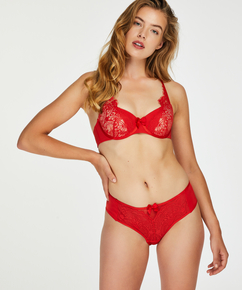 Formstøbt bøjle-bh Kat, rød