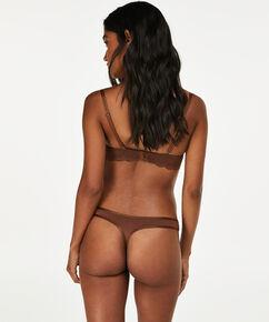 Angie Nude formstøbt stropløs bøjle-bh, Brown