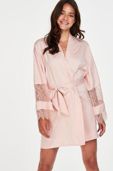 Hunkemöller Kimono satin Bridal pink