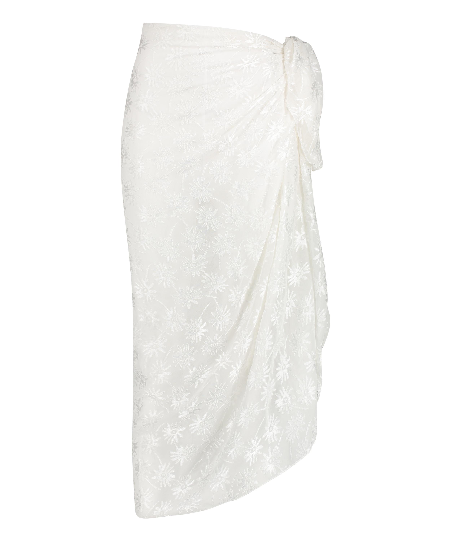 Pareo Libby-struktur, hvid, main