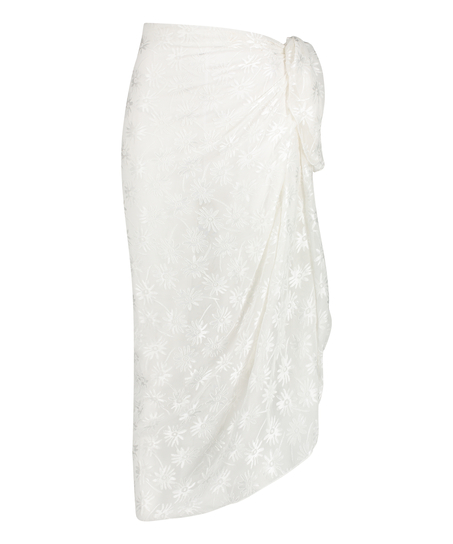 Pareo Libby-struktur, hvid