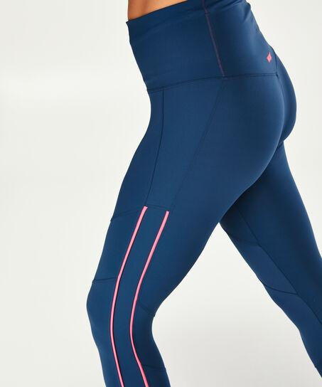 HKMX high waist sport legging, blå