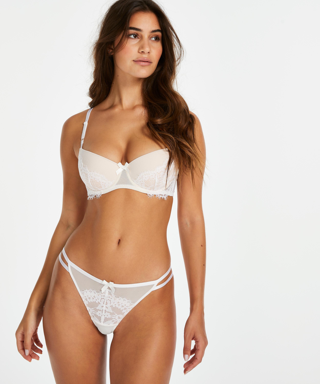 Tanga g-streng Leyla, hvid, main