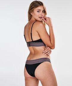 Paradise formstøbt bøjle-bikinitop, sort