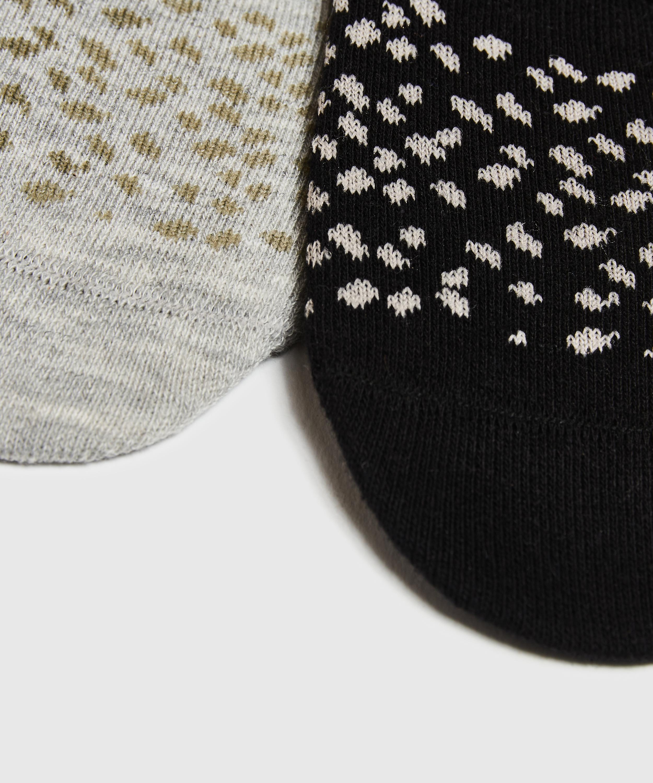 2 Par Sokker, sort, main