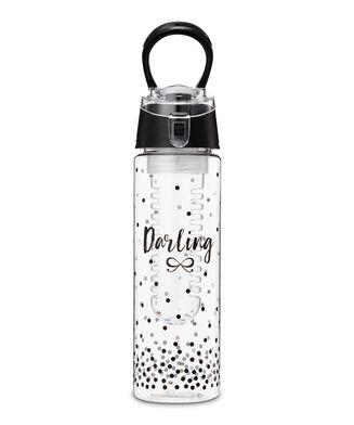 Vandflaske, sort