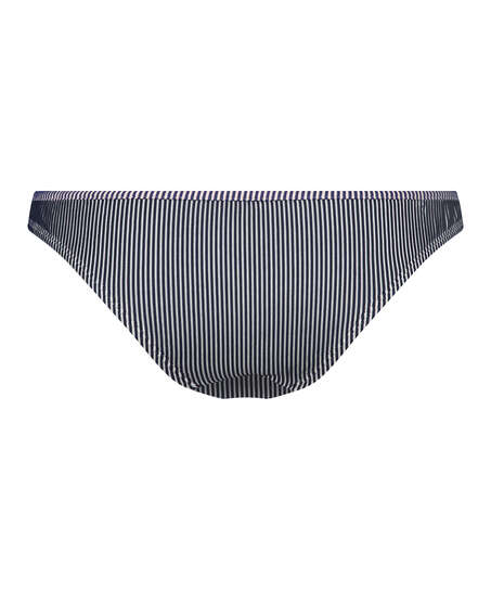 Rio bikinitrusse Ruffle Stripe, blå