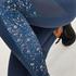 HKMX højtaljede sportleggings, blå