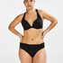 Formstøbt bøjle-bikinitop Sunset Dreams Størrelse E +, sort