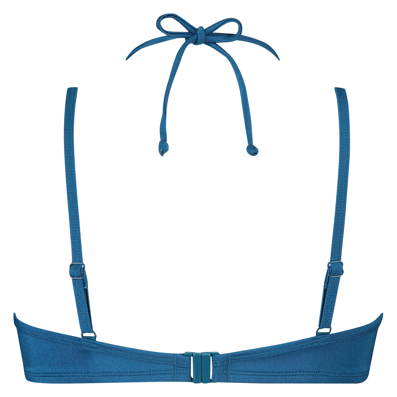 Sunset Dream formstøbt bøjle-bikinitop, blå, main