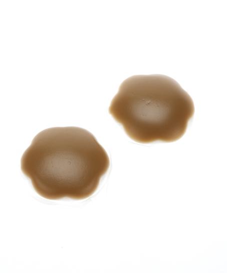 Brystvorteskjulere af silikone, Brown