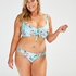 Brasiliansk bikinitrusse Bea, blå