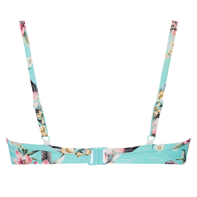Formstøbt bikinitop med bøjle Bea, blå, main