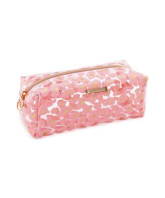 Leopard makeuptaske, pink