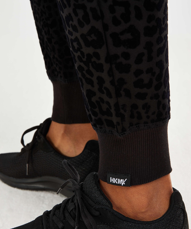HKMX Joggingbukser Leopard, sort, main