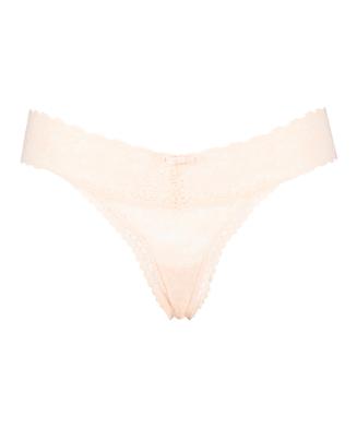 Ekstra lav v-streng, pink