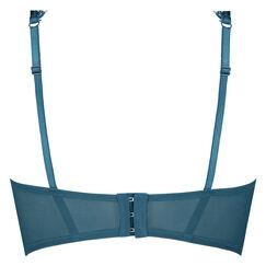 Marilee ikke-formstøbt bøjle-bh, blå