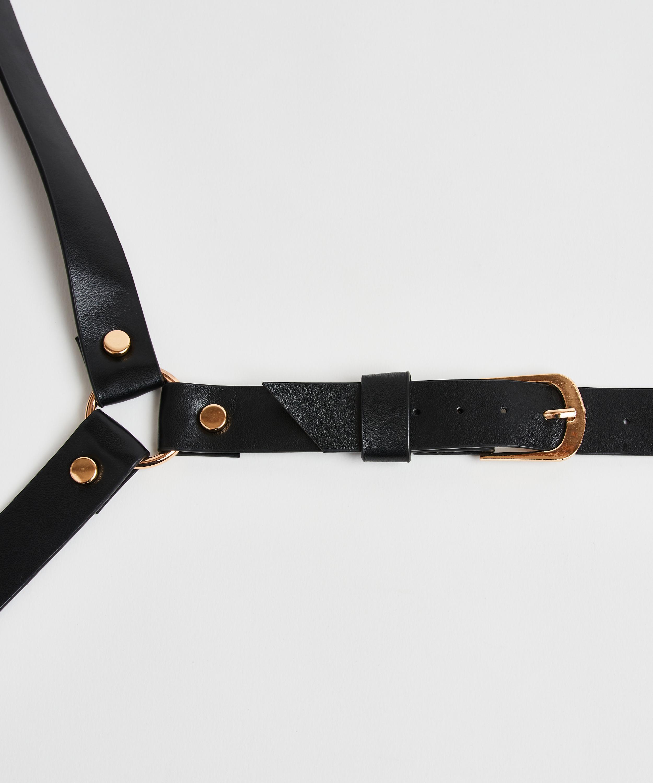 Private body harness, sort, main
