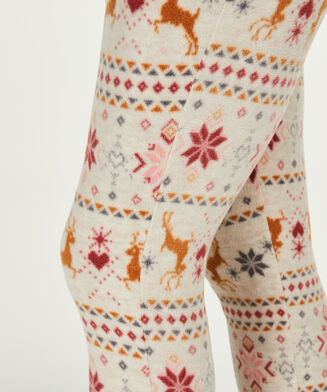 Micro Fleece leggings, tan
