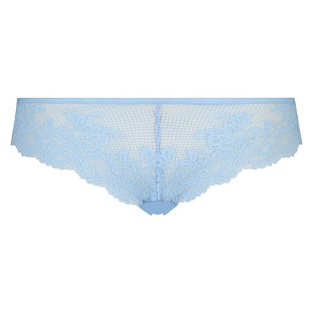 Invisible Lace Front g-streng, blå