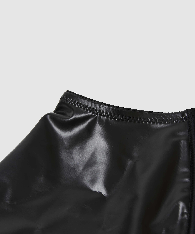 Private hofteholder læder-look, sort, main