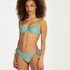 Formstøbt bikinitop med bøjle Sienna, grøn