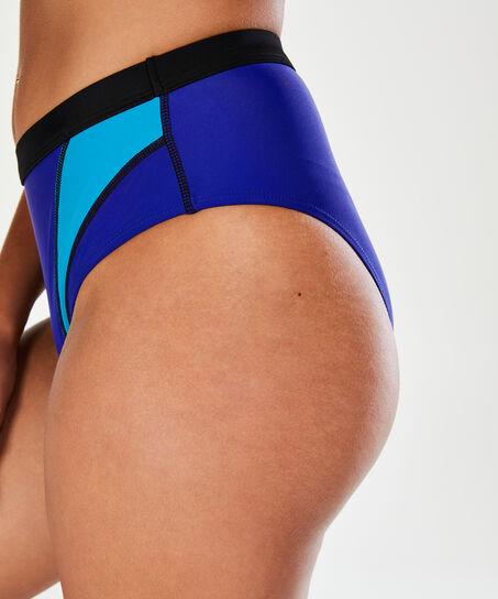HKMX Høj fræk bikinitrusse, blå