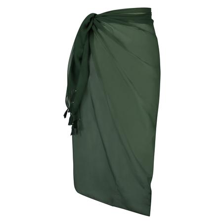 Chiffon pareo, grøn