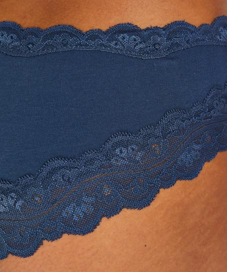 Brazilian Bomuld, blå