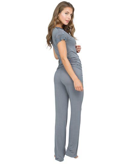 Laila pyjamasbukser, Grå