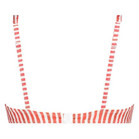 Ikke-formstøbt bikinitop med bøjle Julia, rød