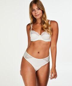 Sophie ikke-formstøbt bøjle-bh, hvid