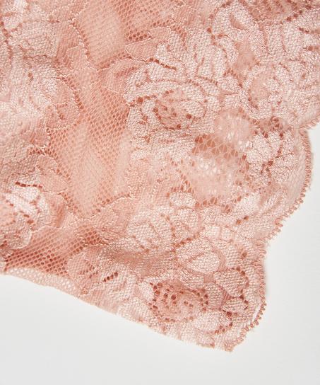 Blonde-lårbånd, pink