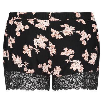 Jersey shorts, sort