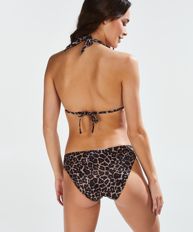 Leopard Rio bikiniunderdel, Beige, main