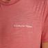 Kortærmet pyjamastop, pink