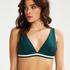 Triangle bikinitop Pinewood, grøn
