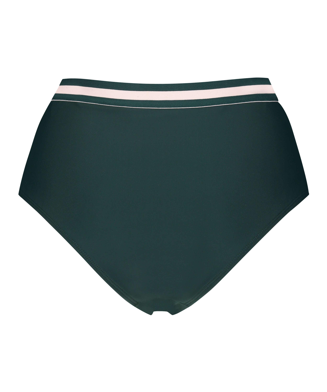 Høj cheeky bikinitrusse Pinewood, grøn, main