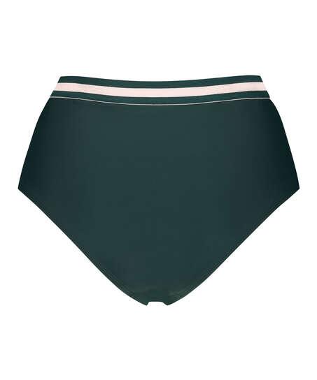 Høj cheeky bikinitrusse Pinewood, grøn