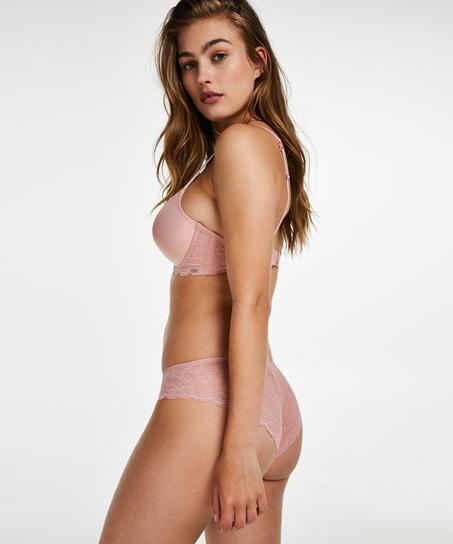 Angie formstøbt bøjle-bh, One & Only, pink