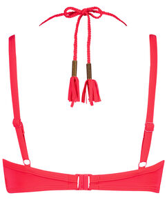 Sunset Dream formstøbt bøjle-bikinitop, rød