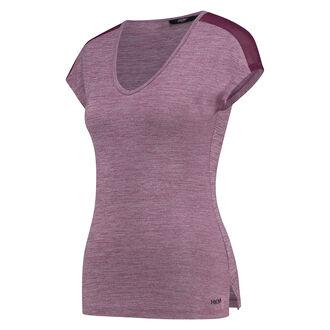 HKMX kortærmet sportsshirt slim fit, lilla