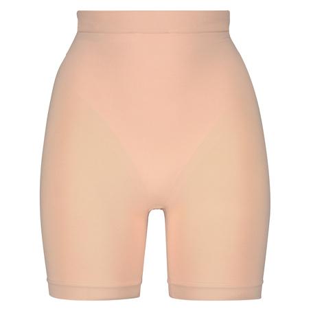Opstrammende højtaljede shorts - Level 2, Beige