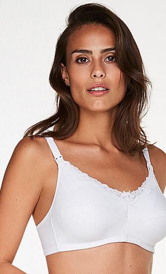 Amme bh, hvid