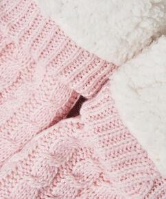 Knit Hjemmesokker, pink