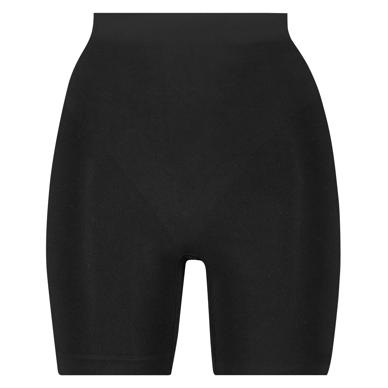 Opstrammende højtaljede shorts - Level 2, sort, main